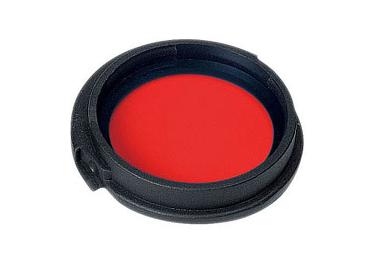 _Светофильтр диффузор красный для фонарей Nextorch T6A,T9,Z6,Z9 RFTC