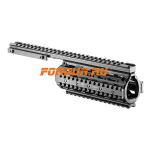 Кронштейн цевье для M4/M16/AR15, FAB Defense, VFR, алюминий (черный)
