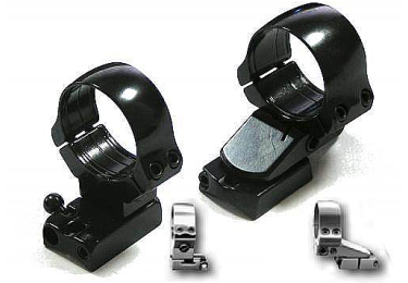 Кронштейн EAW Apel с кольцами (30мм) для Merkel SR1, высота 17мм, поворотный, быстросъемный, 300-05186
