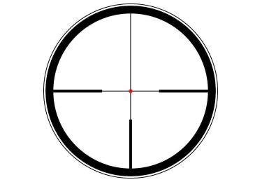 Оптический прицел Leica Magnus 1-6.3x24 на шине, с подсветкой (4A)