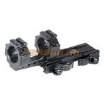 Кронштейн Leapers UTG с кольцами 25,4 мм, быстросъемный, смещенный, M1S35070R2