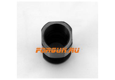 Дульная насадка (0,0) цилиндр 60 мм с резьбой под ДТК для ВПО-205 Вепрь, Сайга 12 кал РЫСЬ ДУДКА-12-0