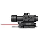 _Коллиматорный прицел  Redfield CounterStrike с лазерным целеуказателем, под Picatinny/MIL-STD-1913,  красная/зеленая марка (4 MOA)