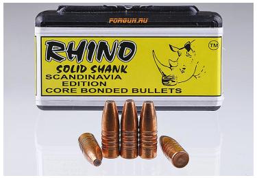 Пули Solid Shank .308 200gr Rhino ЮАР, (50 шт. в уп.), ST020