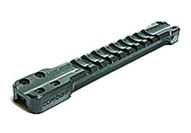 Основание Weaver для вентилируемых прицельных планок 10.0 - 11.0 мм Беломо Combat, 10111-1, алюминий (черный)