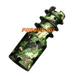 Дульный тормоз компенсатор (ДТК) 5,45/5,56 для Сайга - МК и автоматы АК-74 всех модификаций, Red Heat Цитадель (камуфляж)