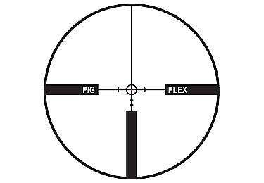 Оптический прицел Leupold VX-R Hog 1.25-4x20 (30mm) матовый, с подсветкой (FireDot Pig Plex) 113165