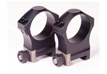Кольца Nightforce Ultralight (34mm) на Picatinny высокие (28.6mm) небыстросьемные, четыре винта A224