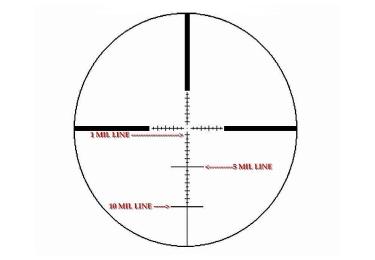 Оптический прицел IOR Valdada 2-12x36 35mm Tactical  с подсветкой (MP-8 DOT)