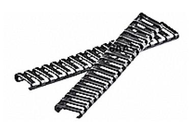 Накладка резиновая для планок Picatinny CAA tactical CH-4LRC, резина, черный
