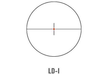 Оптический прицел Swarovski Z6i 1-6x24 L с подсветкой (LD-i)