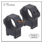 Кольца Contessa на Picatinny D30mm, высота BH 12mm, небыстросъемные, (LPR02/B)