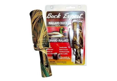 Манок на утку с CD камуфляжный Buck Expert, 78MC-T