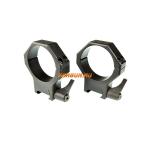 Кольца Contessa на Weaver D40mm, высота BH 14.5mm, быстросъемные, (SPP05/B/SR пара), сталь
