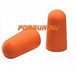 Беруши, ушные вкладыши, полиуретан, оранжевый, 1 пара