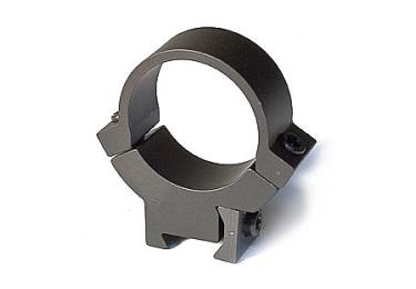Кольца 30 мм на планку 12 мм высота 10 мм Warne 7.3/22 Medium, 731М, сталь (черный)