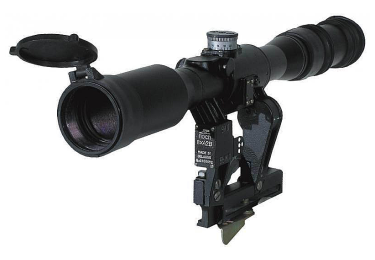 Оптический прицел Беломо ПОСП 8х42 Д М6 Pro, с прицельной сеткой MilDot, тактическими барабанчиками, с диоптрийной отстройкой (для Тигр/СКС)