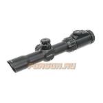 Оптический прицел Leapers UTG 1-8x28 30 mm, загонный, сетка Mil Dot с подсветкой SCP3-18IEMDQ