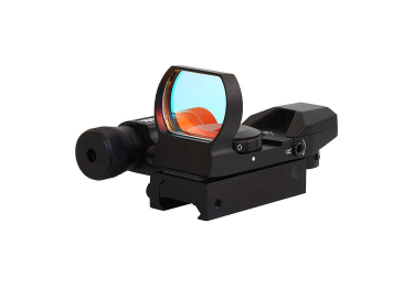 Коллиматорный прицел Sightmark Laser Dual Shot Reflex Sight SM13002, Weaver