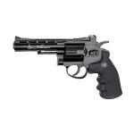 Пневматический револьвер ASG Dan Wesson 4 дюйма, кал. 4.5, черный, 17176