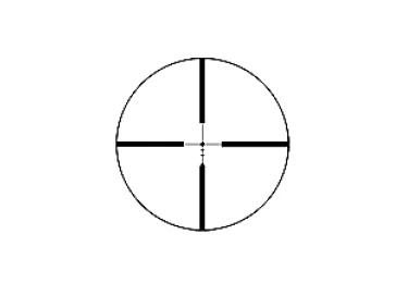 Оптический прицел Sightron SIIB 3-12X42HHR, 25,4мм, без подсветки, HHR