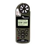 Ветромер Kestrel 4500 Horus BT Olive (текущую, максимальную и среднюю скорость, направление ветра, скорость бокового, встречного и попутного ветра, с баллистическим калькулятором, Bluetooth) 0845HBOLV