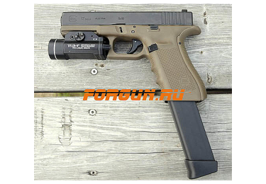 Магазин 9х19 мм на 33 патрона для Glock 17/G19/G26/G34 Glock Perfection 4422-01