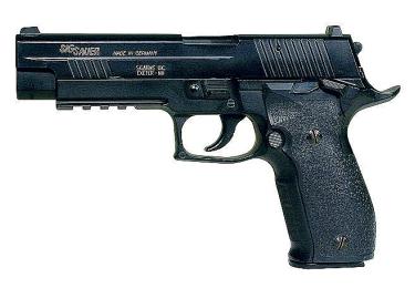 Пневматический пистолет Sig Sauer P226 X-Five черный метал (Cybergun)