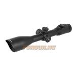 Оптический прицел Leapers UTG 10x50 30 мм, сетка Mildot с подсветкой, SCP3-UGM105AOIEW