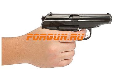 Рукоятка пистолетная для ПММ и 654к, пластик, с ЛЦУ PM LASER