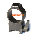 Кольца 30 мм на Weaver высота 16 мм Warne Maxima Quick Detach Extra High, 216LM, сталь (черный)