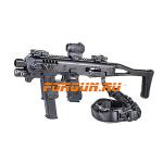 Комплект для модернизации Glock 3-4 поколения CAA tactical MIC-RONI, алюминий/полимер (черный)