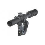 Оптический прицел Беломо ПОСП 6х42 ВДС М6 Pro, с подсветкой сетки MilDot, тактическими барабанчиками,  с диоптрийной отстройкой (для Вепрь/Сайга)
