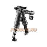 Рукоять-сошка на Weaver/Picatinny, быстросъемная, встроен фонарь, высота 15-21 см, FAB Defense, FD-T-POD G2 SL