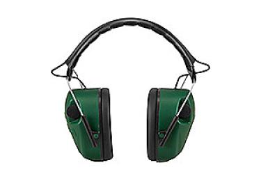 Наушники активные складные 25 дБ Caldwell E-Max Standart, чёрный/зеленый, 497700