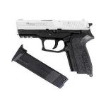 Пневматический пистолет Sig Sauer 2022 никель метал (Cybergun)