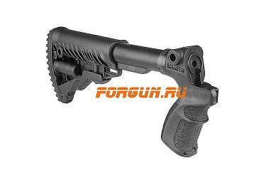 Приклад для Mossberg 500, телескопический, рукоятка, пластик, щека, FAB Defense, FD-AGM 500 FK CP