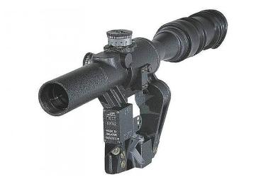 Оптический прицел Беломо ПОСП 6х42 М6 Pro, с сеткой MilDot, тактическими барабанчиками, (для Тигр/СКС)