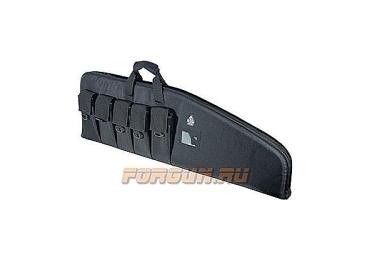 Тактическая сумка-чехол Leapers UTG для оружия, длина – 107 см, черная, PVC-DC42B-A