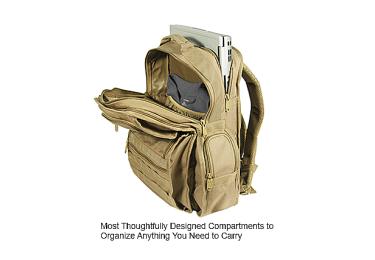 Тактический рюкзак Leapers UTG, двухлямочный, черный бежевый, PVC-P368S