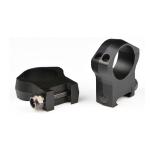 Кольца 30 мм на Weaver высота 21 мм Warne MOUNTAIN TECH MSR Ideal 7217M алюминий (черный матовый)