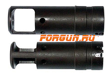 Дульный тормоз компенсатор (ДТК) 7,62/5,45/.223 для Сайга - МК и автоматы АК-74 всех модификаций, Тактика Тула однокамерный 20043