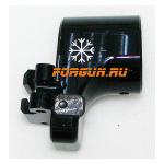 Переходник складной со смещением 17 мм для установки регулируемых телескопических прикладов на Вепрь 12, ВПО-205, B12-2 РЫСЬ