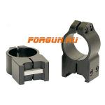Кольца 25,4 мм на Weaver высота 13 мм Warne Maxima Fixed High, 202M, сталь (черный)