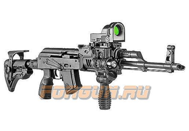 Магазин 7,62x39 мм (.30, .366 ТКМ) на 10 патронов для АК, АКМ, Вепря или Сайги, пластик, FAB Defense, FD-ULTIMAG AK 10R