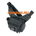 Тактическая сумка, черный цвет, Leapers UTG, PVC-P219B