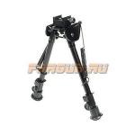 Сошки для оружия Leapers UTG, Weaver/Picatinny или антабка, высота 21-32 см, TL-BP88