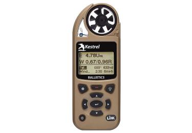 Ветромер Kestrel 5700 LiNK Tan (Applied Ballistic, время, скорость ветра, температура воздуха, воды, WP, более 14 различных параметров) 0857BLTAN