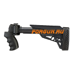 Приклад для Mossberg 500, Remington 870, Winchester 1200/1300 телескопический, рукоятка, пластик, щека, ATI Strikeforce, B.1.10.1135.c