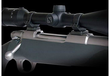 Кронштейн MAK с кольцами (26 мм) для Sako 75, средний, небыстросьемный, 4020-26054